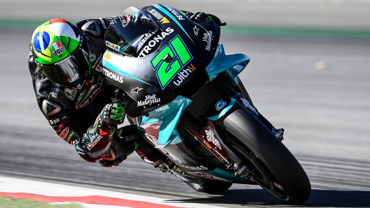 Franco Morbidelli se anota la pole de MotoGP en el GP de Catalunya