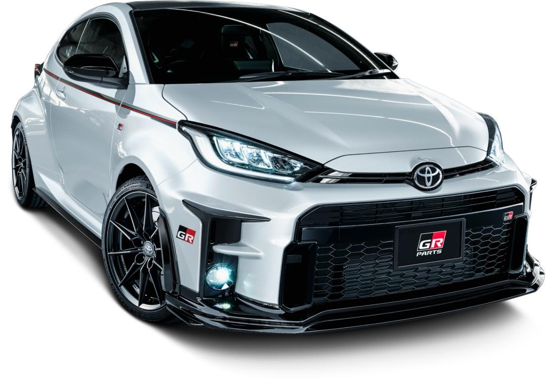 GAZOO Racing viste con más agresividad al nuevo GR Yaris en Japón