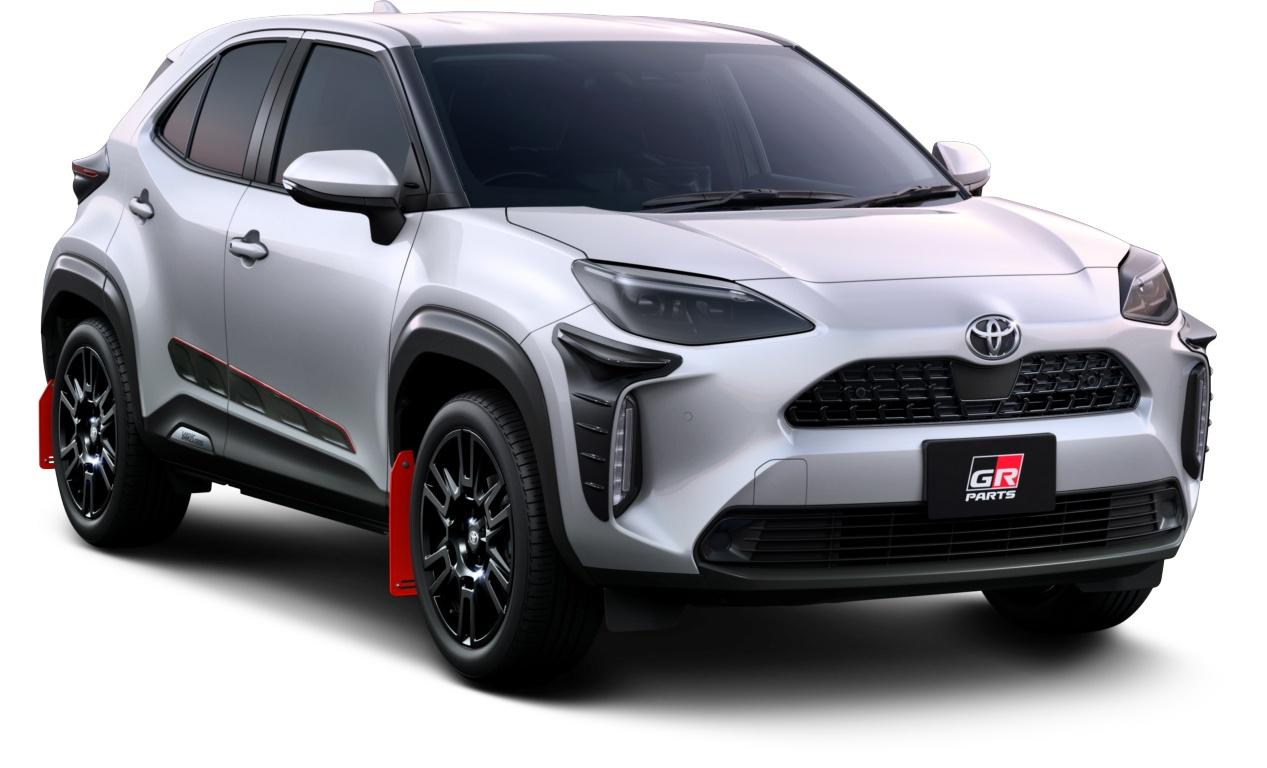 GAZOO Racing presenta sus accesorios para el Toyota Yaris Cross en Japón