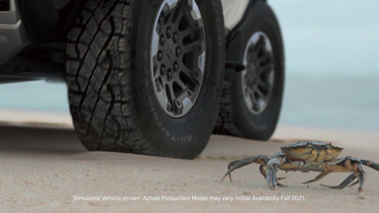 GM desvela el 'Modo cangrejo' del nuevo Hummer y revela su fecha de presentación