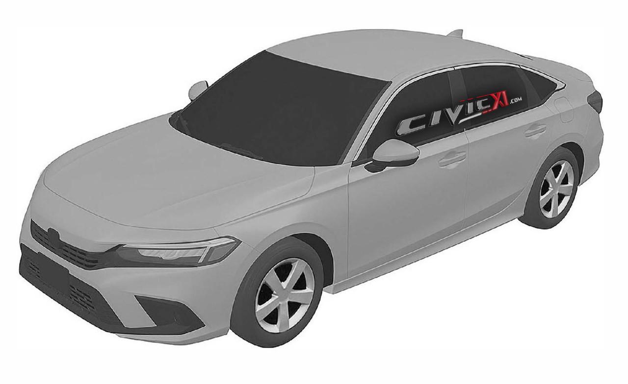 El futuro Honda Civic Sedán 2022 filtrado al completo