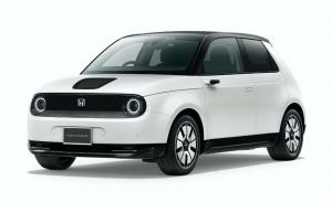 El Honda e estrena accesorios aerodinámicos y tecnológicos en Japón