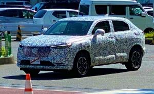 Honda HR-V 2021, primeras imágenes de la tercera generación del SUV japonés