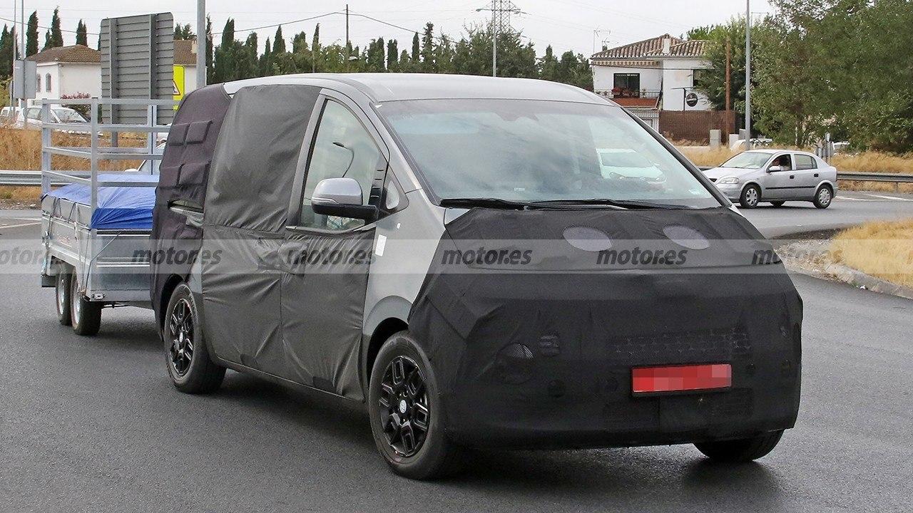 El nuevo Hyundai H-1 2021 al detalle en estas fotos espía, ¡interior incluido!