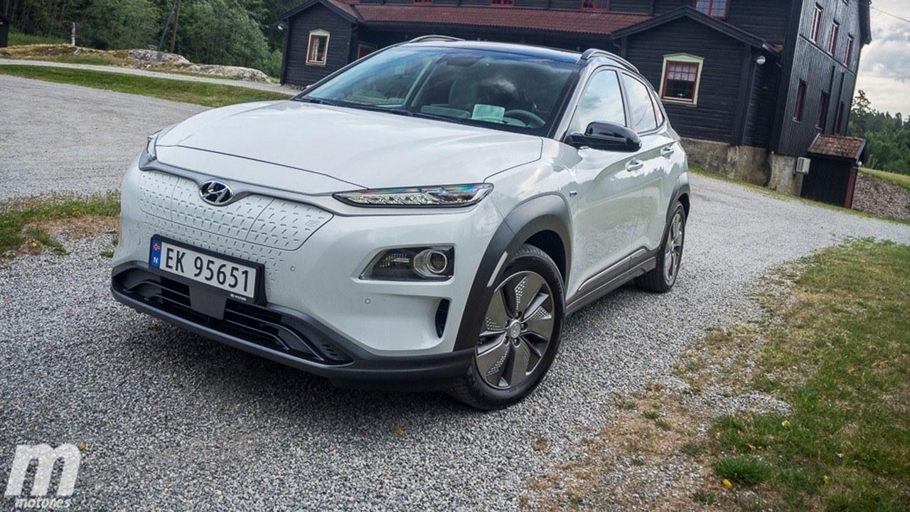 El Hyundai Kona Eléctrico aumenta su autonomía hasta los 484 kilómetros