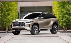 El atractivo Infiniti QX60 Monograph adelanta el nuevo SUV de 7 plazas