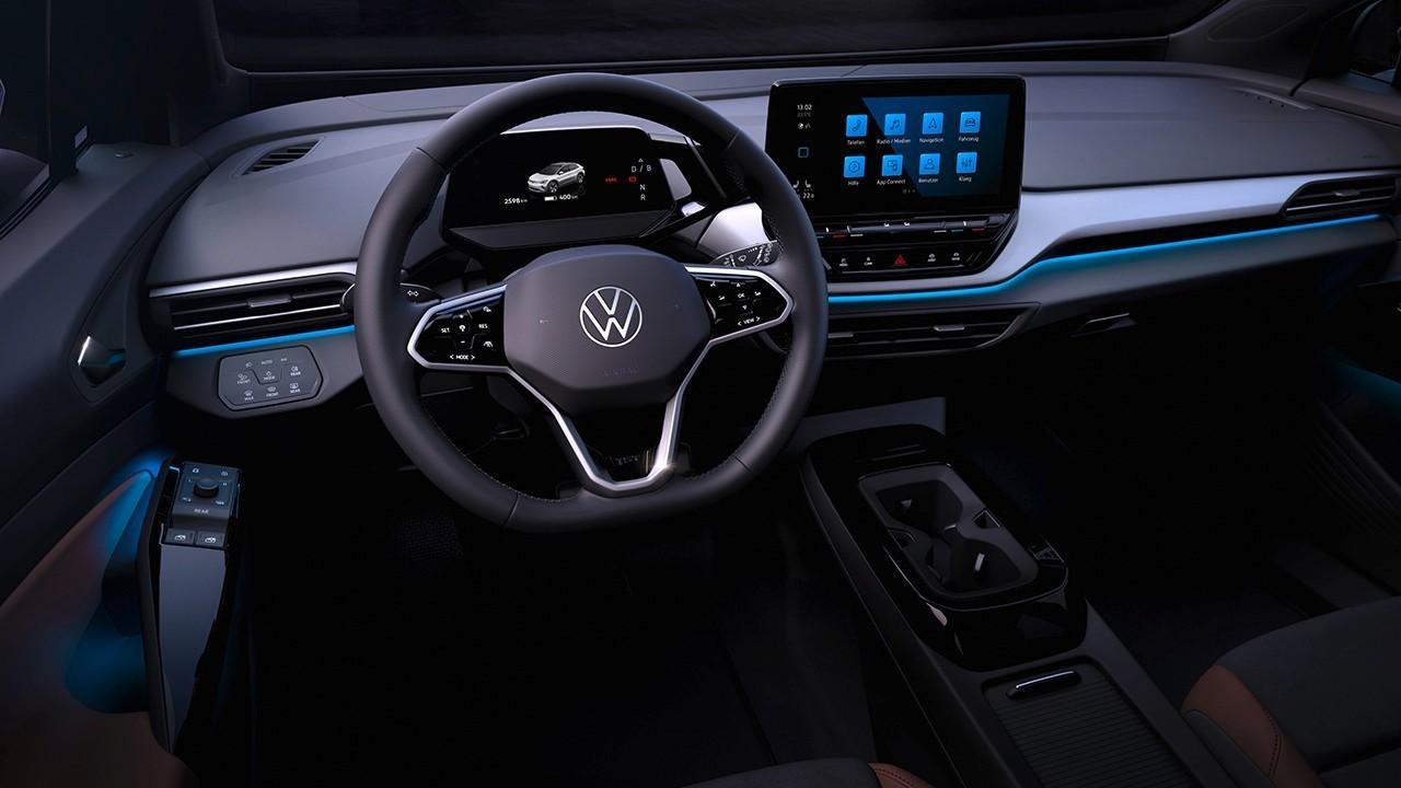El interior del nuevo Volkswagen ID.4, el esperado SUV eléctrico, ha sido desvelado