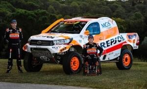 Isidre Esteve une fuerzas con Toyota España de cara al Dakar 2021