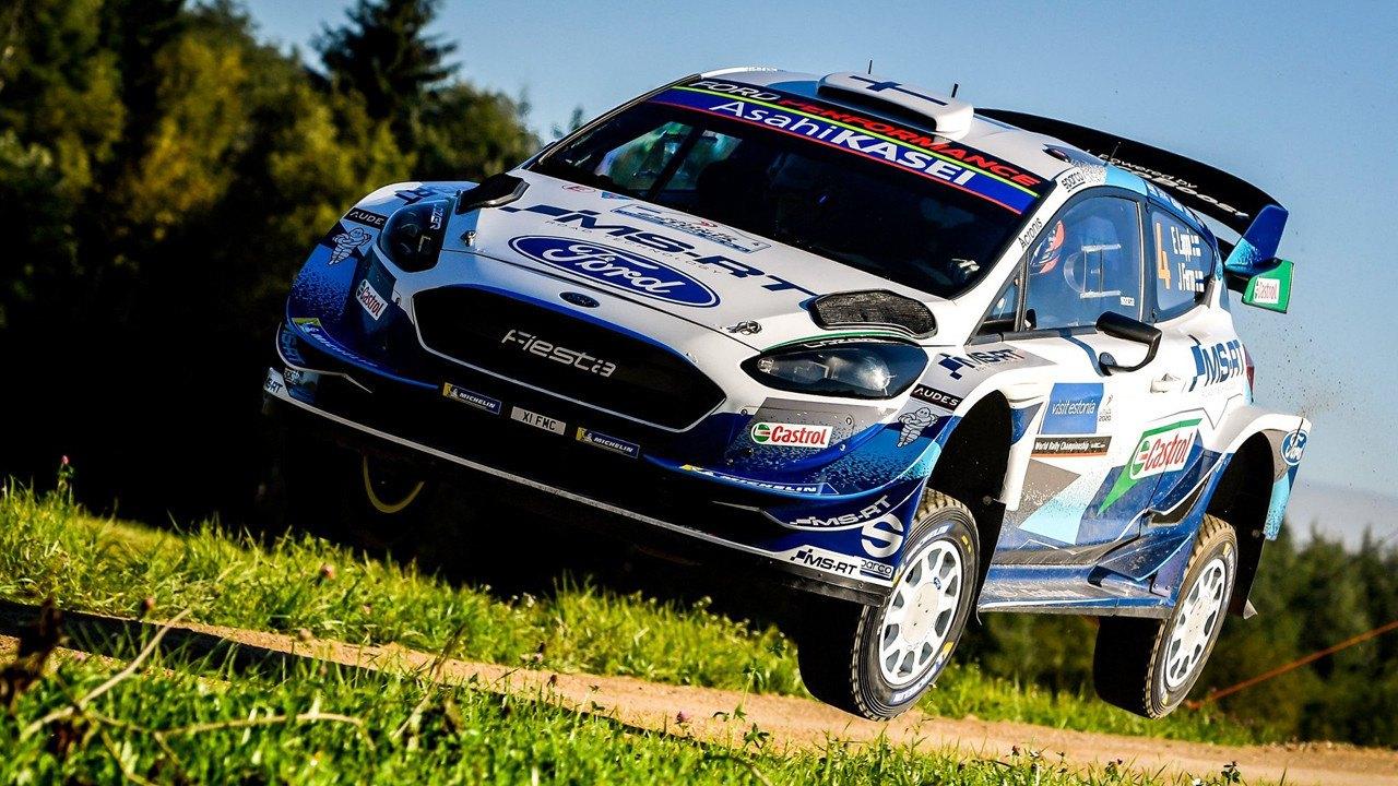 Lappi y Ogier comparten scratch en el SS1 del Rally de Estonia