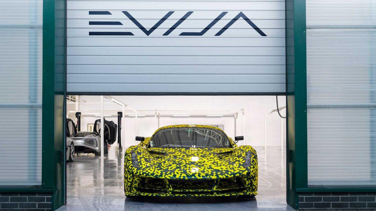 Lotus se desentiende de Williams para el desarrollo del Evija