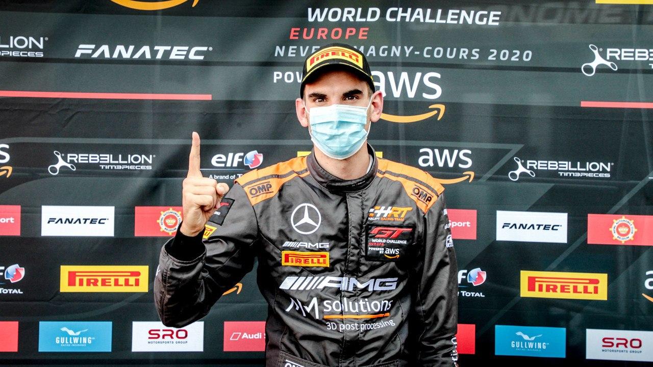 Luca Stolz conquista la pole y saldrá primero en la noche de Magny-Cours