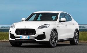 Primera recreación del futuro Maserati Grecale, un adelanto de diseño y motores