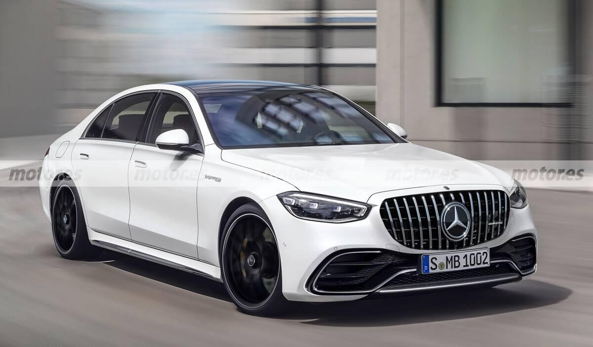 Adelantamos el nuevo Mercedes-AMG S 63 e, la berlina más deportiva llega en 2022