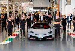 La producción del Lamborghini Aventador alcanza un nuevo récord con 10.000 unidades