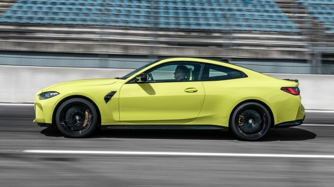 BMW M4 Coupé 2021 - lateral
