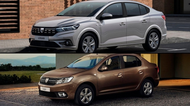 Comparativa visual del Dacia Logan 2021