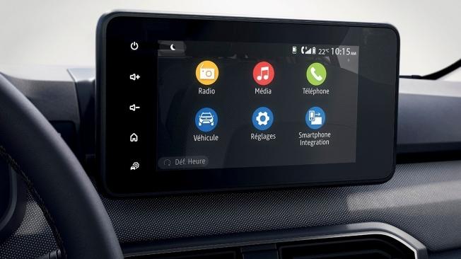 Dacia Logan 2021 - conectividad