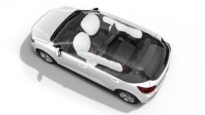 Dacia Logan 2021 - equipamiento de seguridad