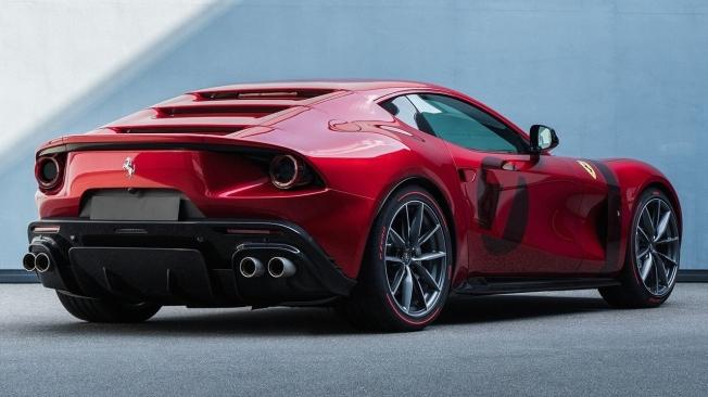 Ferrari Omologata - posterior