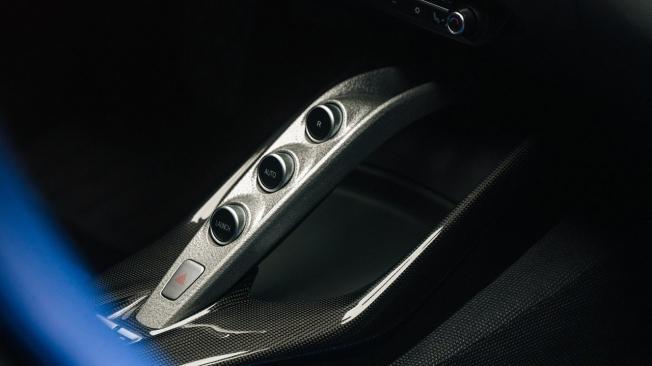 Ferrari Omologata - interior