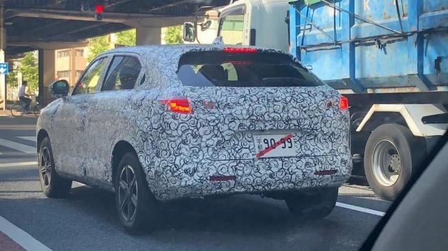 Honda HR-V 2021 - foto espía posterior