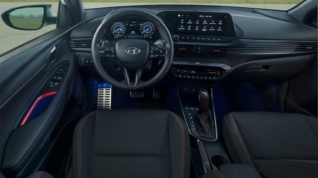 Hyundai i20 N Line - interior