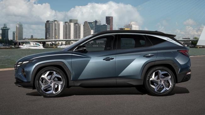 Hyundai Tucson 2021 - lateral
