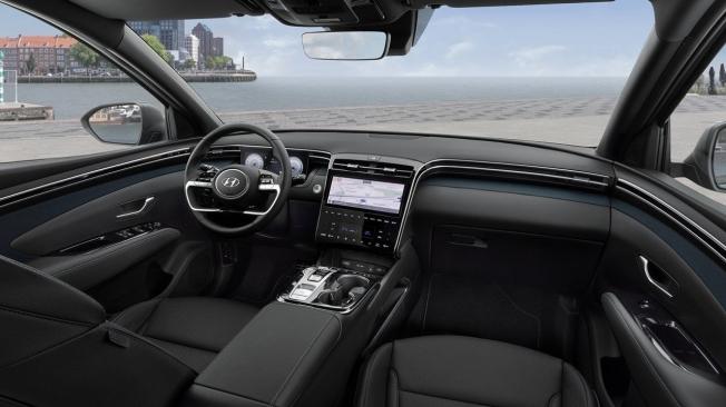 Hyundai Tucson Hybrid 2021 - interior
