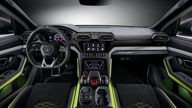 Lamborghini Urus Graphite Capsule - interior
