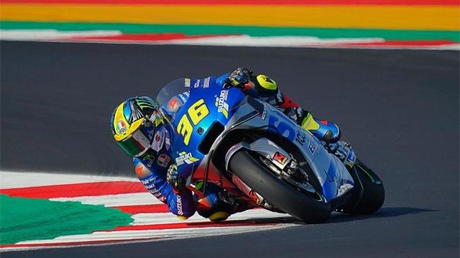 Maverick Viñales lidera el triplete español en el GP de Emilia-Romaña