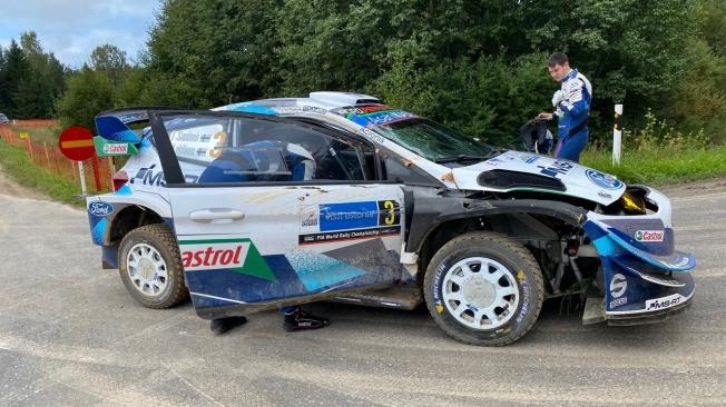 Ott Tänak marca la pauta en el shakedown del Rally de Estonia