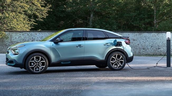 Citroën ë-C4 - lateral