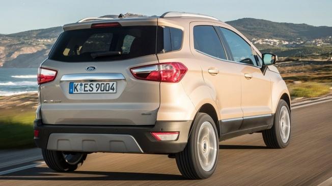 Ford EcoSport 2021 - posterior