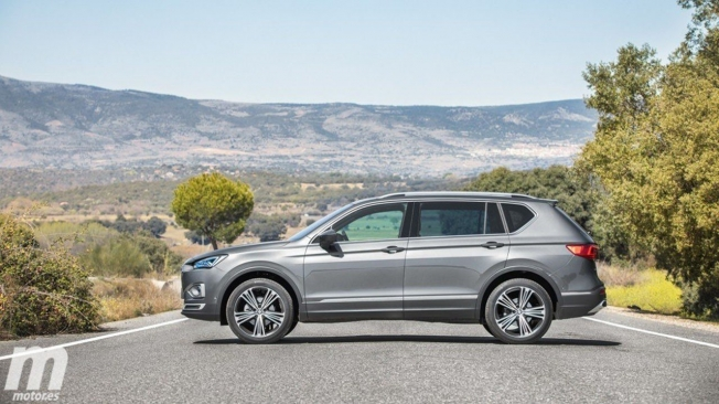 SEAT Tarraco - lateral