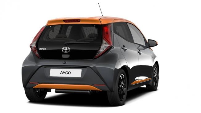 Toyota Aygo 2020 - posterior