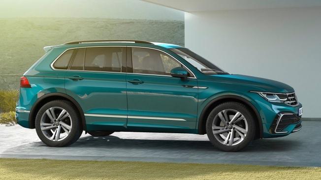 el nuevo volkswagen tiguan 2021, ahora con motor diésel y