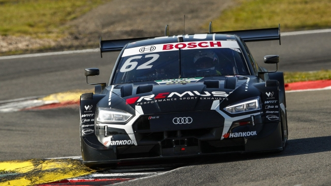 Robin Frijns arrebata la pole a Ferdinand Habsburg en Nürburgring