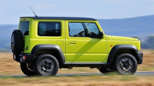 Suzuki Jimny - lateral