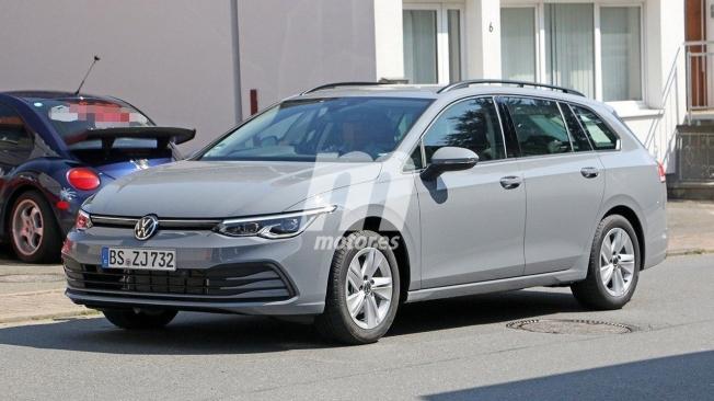 Volkswagen Golf Variant 2021 - foto espía