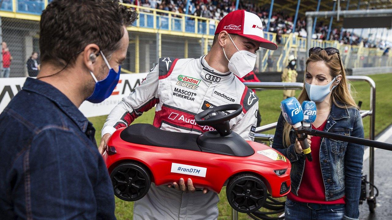 Nico Müller amplía su ventaja al frente del DTM en el TT Assen