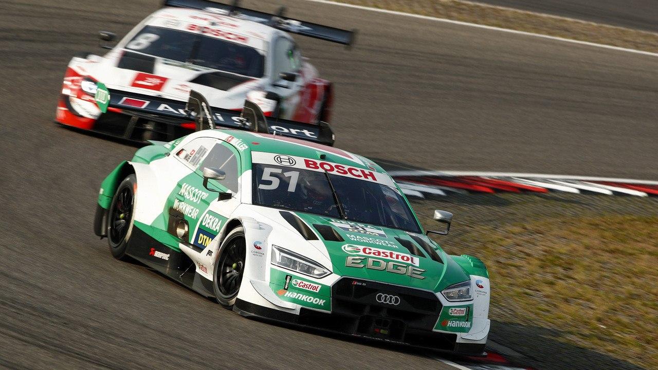 Nico Müller no frena y se lleva la primera pole del DTM en Nürburgring