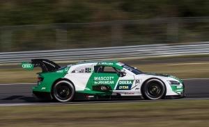 Nico Müller supera a Robin Frijns y logra su quinto triunfo en el DTM 2020