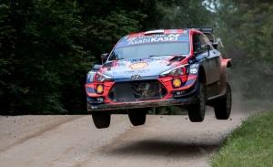 Ott Tänak cierra la etapa del sábado al frente del Rally de Estonia