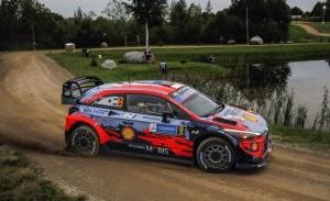 Ott Tänak lidera el triplete provisional de Hyundai en el Rally de Estonia