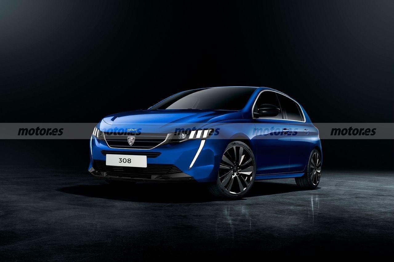 Nuevo adelanto del Peugeot 308 2021, con un diseño más fiel al modelo de producción
