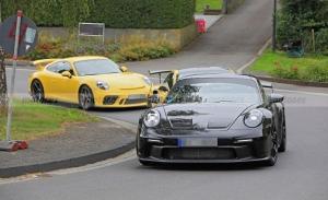 El futuro Porsche 911 GT3 (992) rueda con su antecesor y nos muestra sus novedades