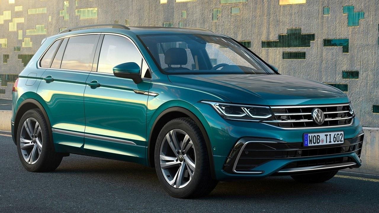 El nuevo Volkswagen Tiguan 2021, ahora con motor diésel y ...
