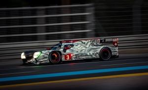 El Rebellion #3 domina los accidentados libres nocturnos de Le Mans