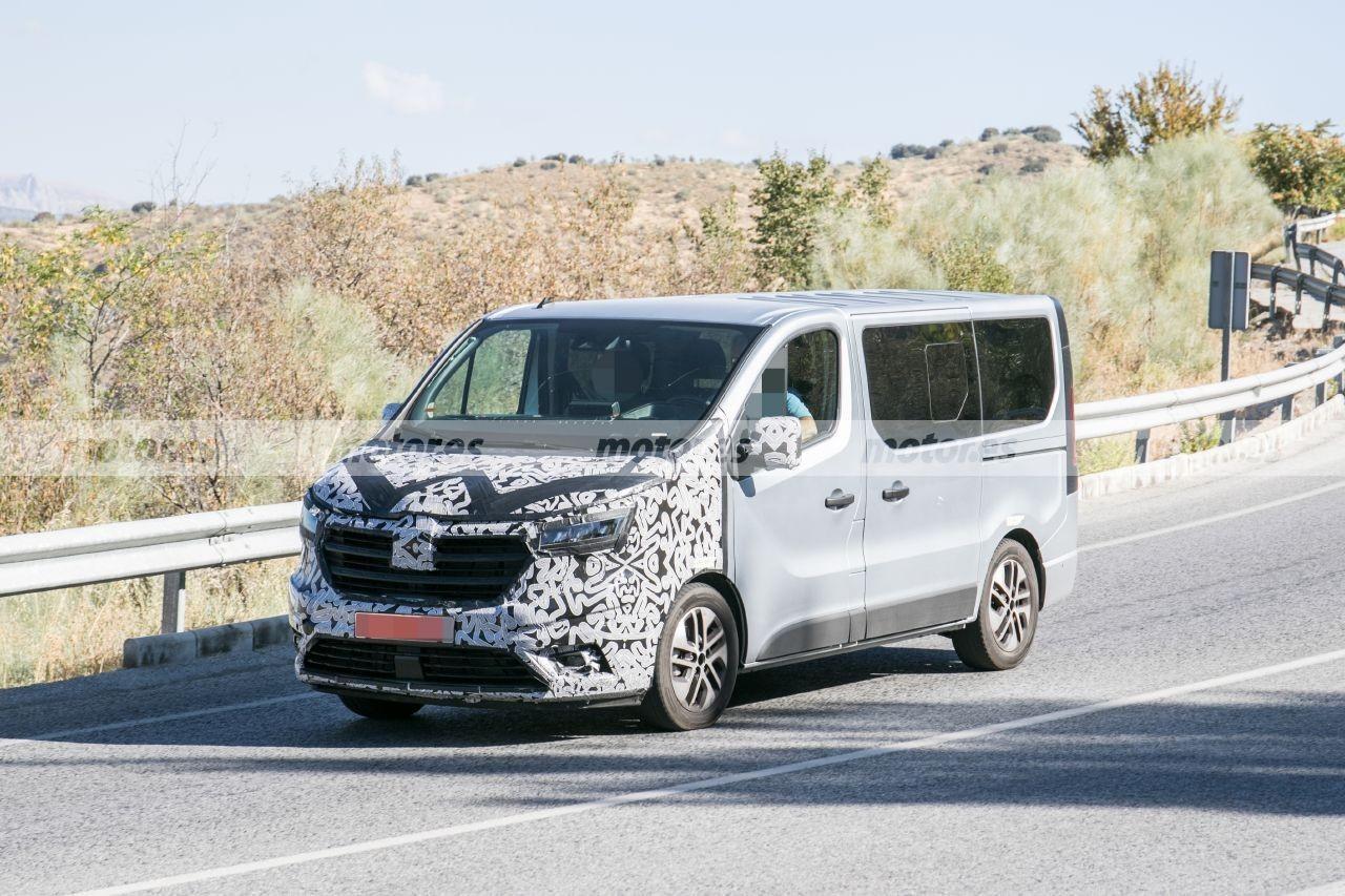 Renault Trafic 2022, la renovada furgoneta francesa se deja ver en el sur de Europa