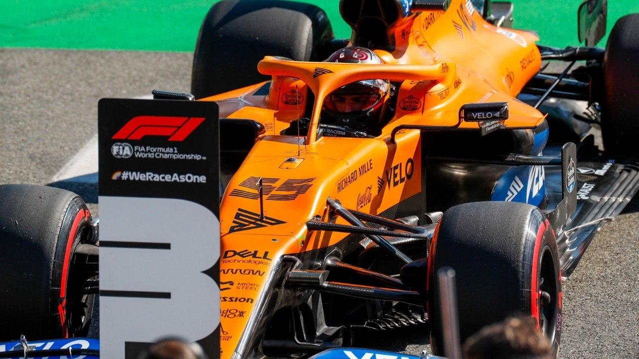 Sainz saldrá tercero en Monza: «He arriesgado mucho y ha merecido la pena»